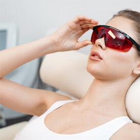 Depilacja laserowa - kobieta